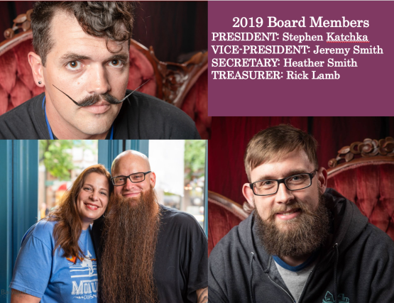 2019 Board Members PRESIDENT: Stephen Katchka VICE-PRESIDENT: Jeremy Smith SECRETARY: Heather Smith TREASURER: Rick Lamb
